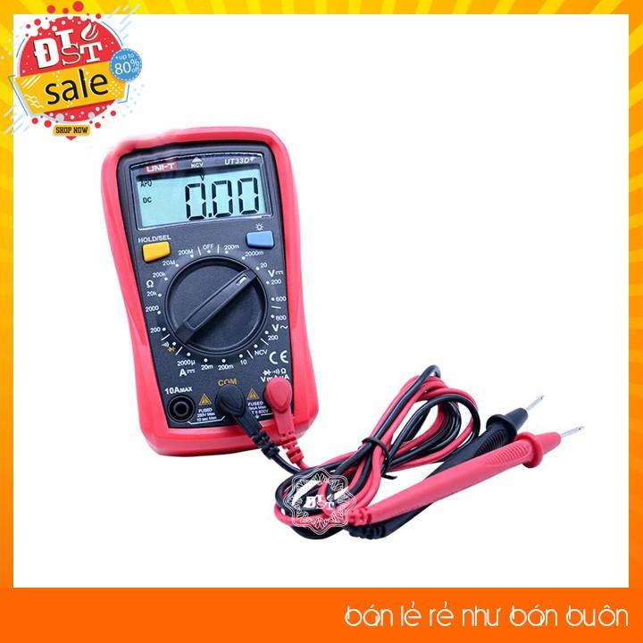 Đồng hồ đo điện tử UNI-T UT33D+
