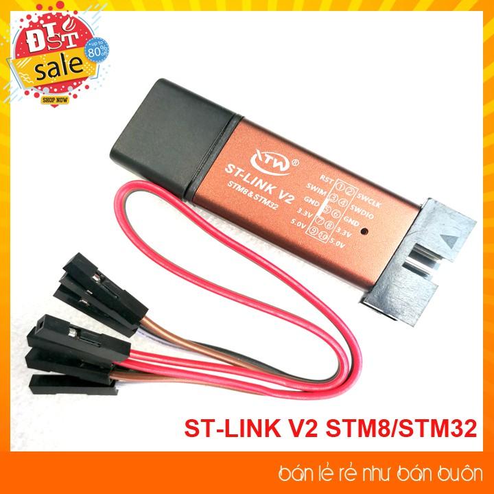 Mạch Nạp STM8, STM32 ST-Link V2 Mini