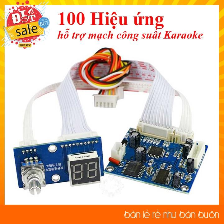 Mạch tạo 100 hiệu ứng âm thanh kĩ thuật số Karaoke DSP-100