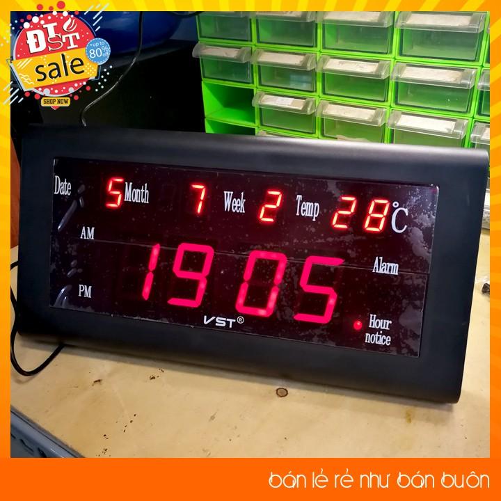 Đồng hồ treo tường, để bàn hiển thị ngày tháng năm, nhiệt độ có hẹn giờ